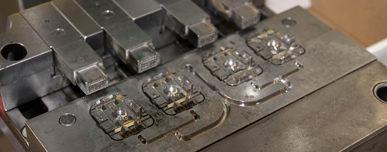 Overmoulded connectors
